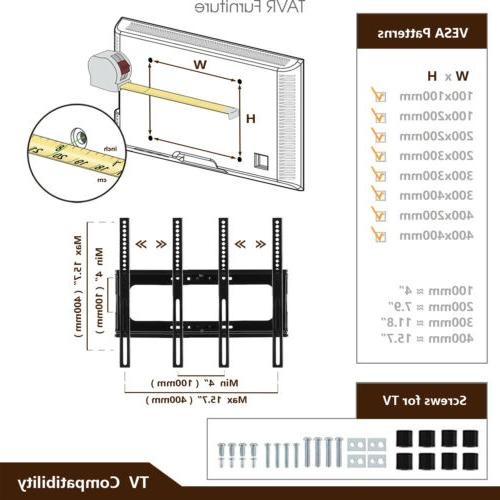 TV Mount Plasma/LCD/LED/Flat/Curved TVs