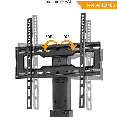 Swivel Tabletop Base Stand with for 37 40 45 55 60 inch TVs