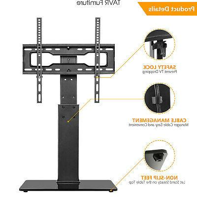 Swivel TV Base Stand with 37 40 55 60 inch TVs
