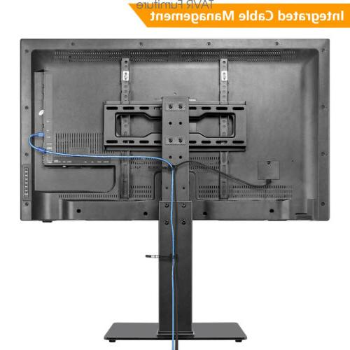 Swivel Tabletop TV Base Stand with Mount 37 55 inch TVs