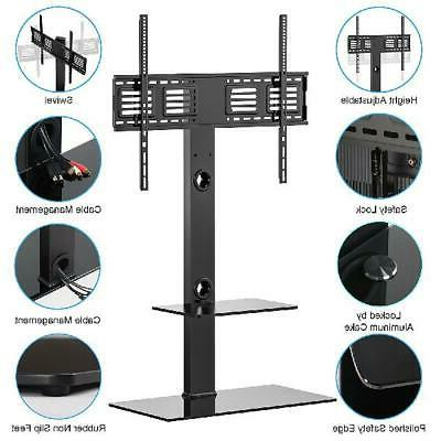 FITUEYES Swivel TV With Mount Height for 50-80