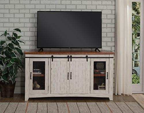 Martin Home Taos Antique White Distressed and Distressed