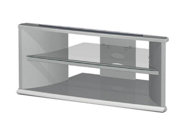 "TECH CRAFT SDE42 42"" Silver Companion Series TV Stand. Item"