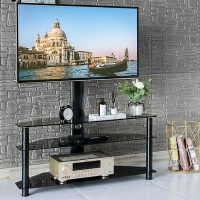 three layers shelf floor tv stand