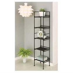 Neu Home 97215 5 Tier Square Shelf Black