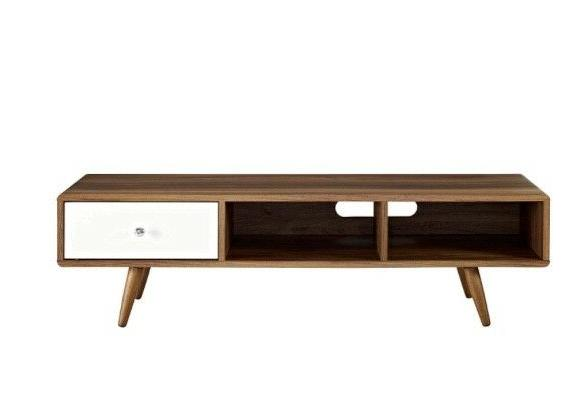 Modway Mid-Century Low Profile 55 Inch TV Stand