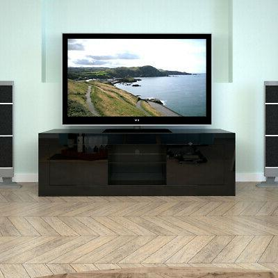 TV LED Drawers Console Home