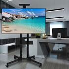 TV Cart LED Plasma Flat Panels Mobile Stand Mount with Wheel