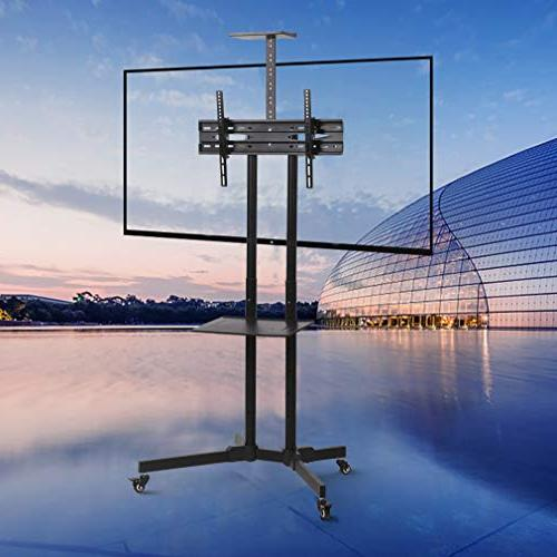 TV Cart TV Cart LCD with for LCD LED Flat Panel Living Room Meeting to