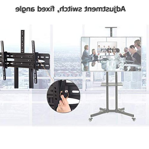 Cart TV with Wheels for LED Plasma Panel Room Meeting Room 65""