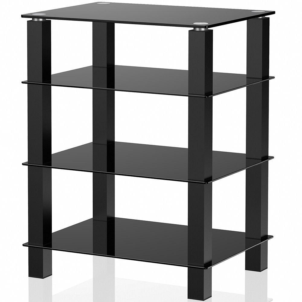 TV Center Stand DVD Shelves