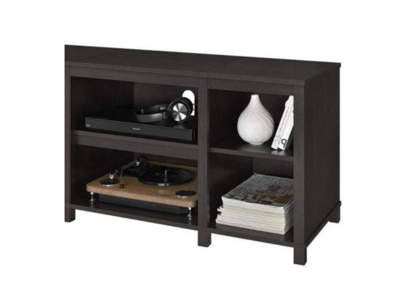 """TV Stand 50"""" Media Center Brown Cabinet"""