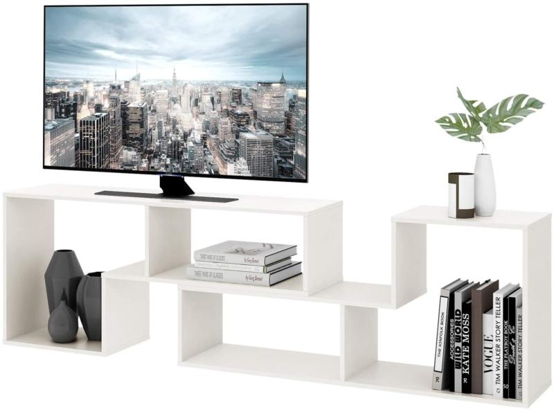 DEVAISE TV Console Stand, Modern Entertainment Center Media