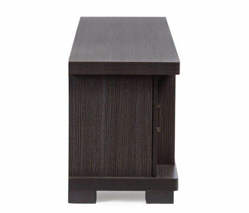 TV Center Unit Stand Cabinet Wood Console 70 inch