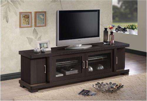 tv entertainment center unit stand storage cabinet