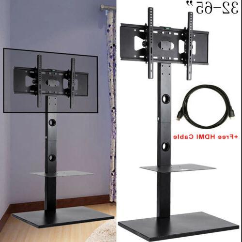 """TV Floor Stand for 32""""-65"""" Flat Panel Screens Height Adjusta"""