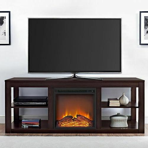 Media up 65 Entertainment Center Electric Log