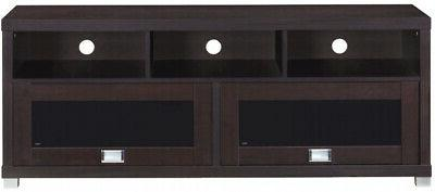 TV Stand To 75 inch Flat Screen Entertainment Media Console