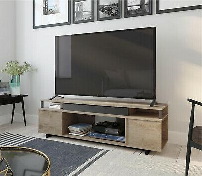 65 Inch Tv Stand For Flat Screens Console Modern Entertainme