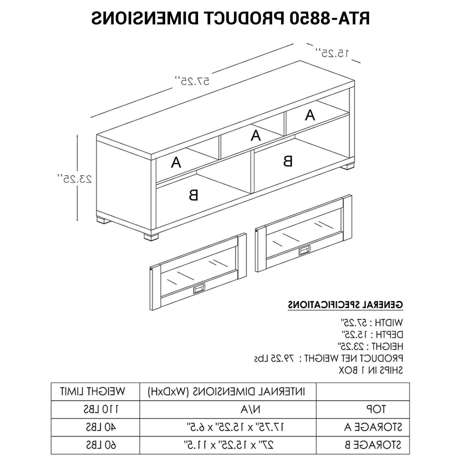 TV Flat Console