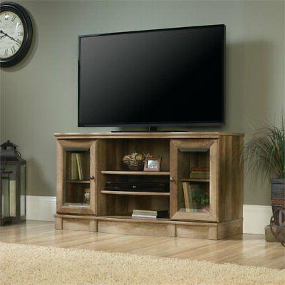 TV Stand - Craftsman Oak Finish - Sauder Select