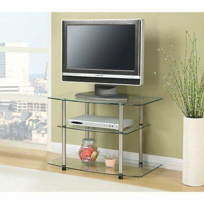 Convenience Concepts TV Stand - Up to 32 Screen Support - 80
