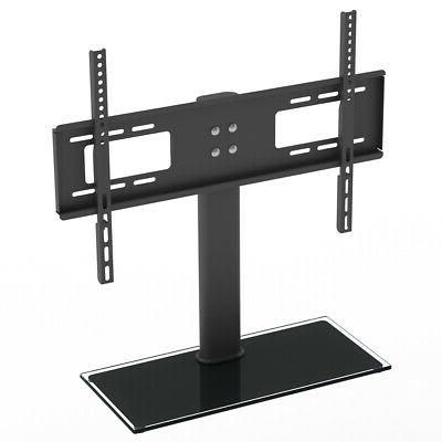TV Stand Base with Universal Bracket Mount and Height Adjust