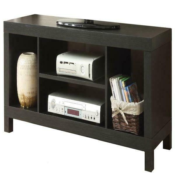 Modern Wood TV Entertainment Unit Stand Console Cabinet Shel