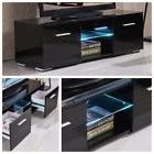 TV Stand Cabinet Entertainment Center Media Console w/ LED L