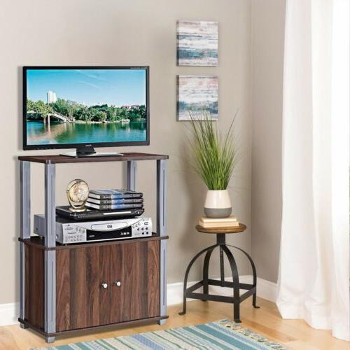 tv stand component console display rack storage