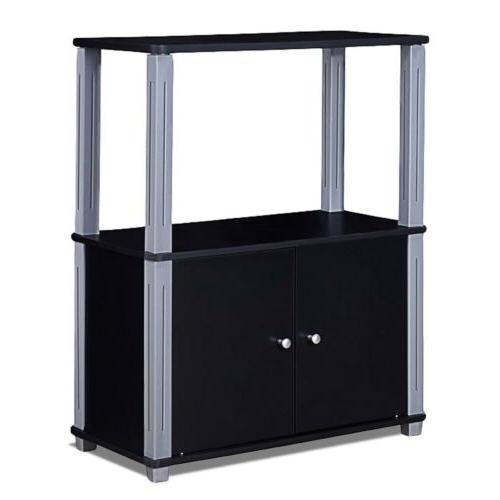 "TV Stand Display Storage Cabinet 24"" 11.5"" x 31.5"" US"