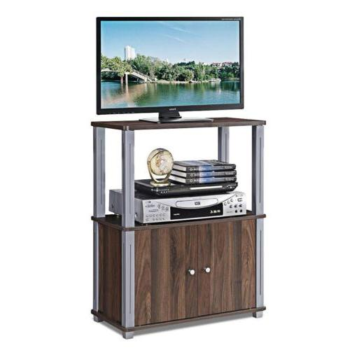 "TV Component Console Display Storage Cabinet 24"" 31.5"" US"