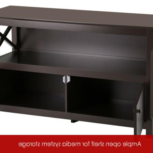 TV Entertainment Furniture Console Cabinet Shelf