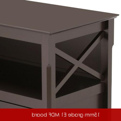 TV Entertainment Center Furniture Cabinet Home