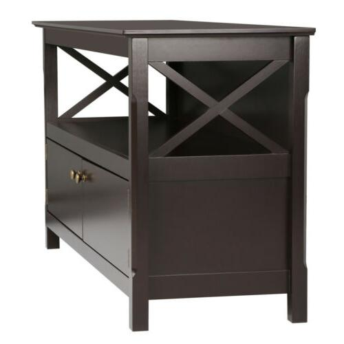 X Shape Base Home Entertainment Center