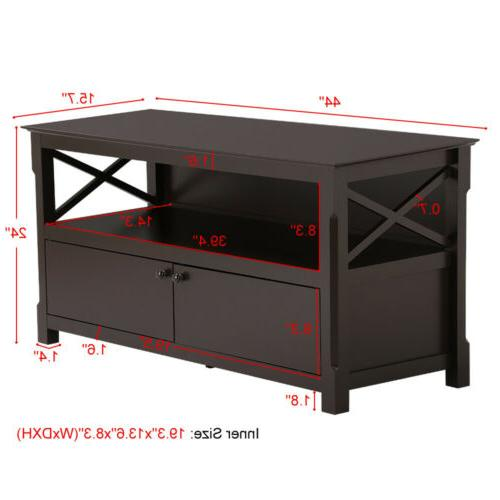 TV Stand Center Furniture Console Cabinet
