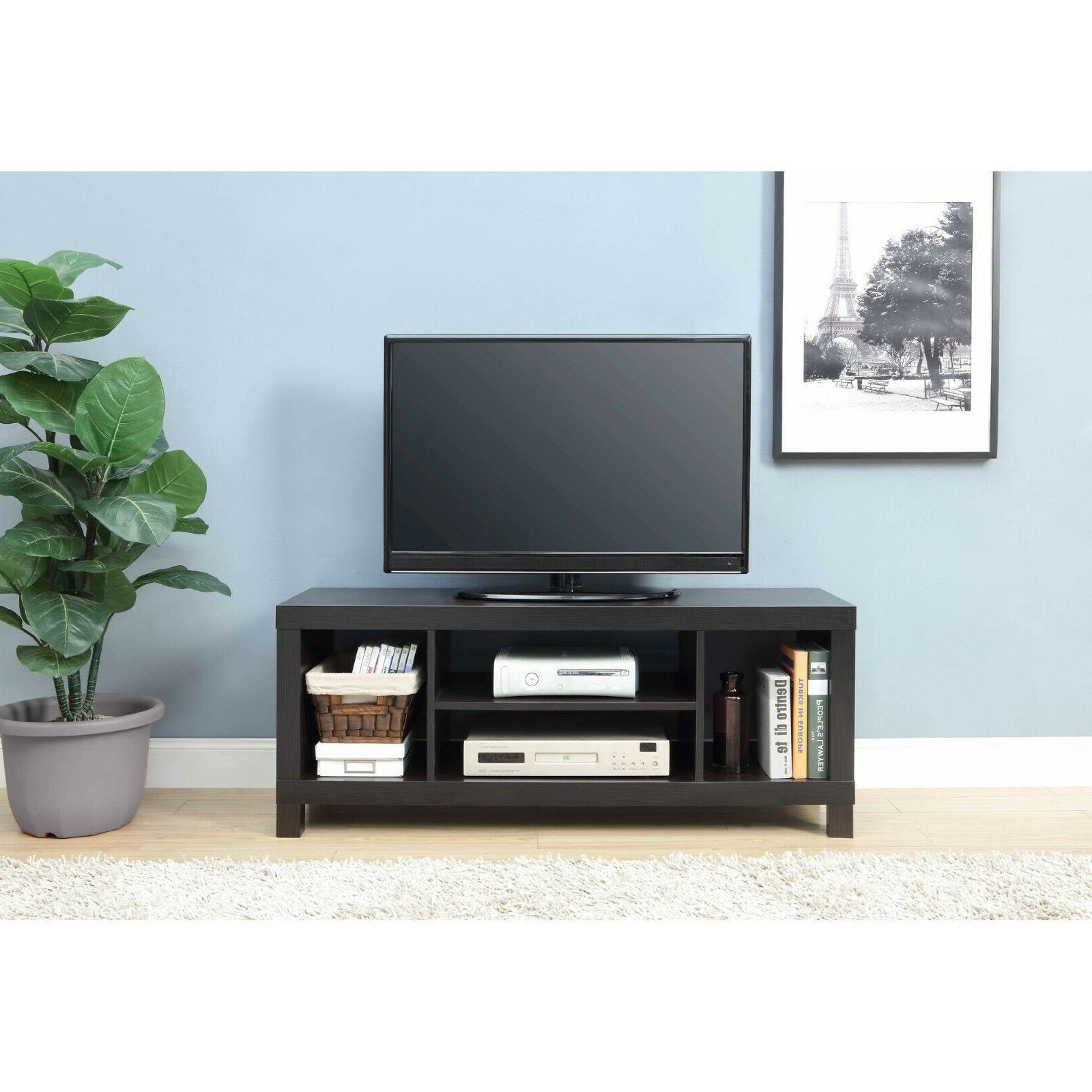 TV Stand Center Furniture Storage Modern Home