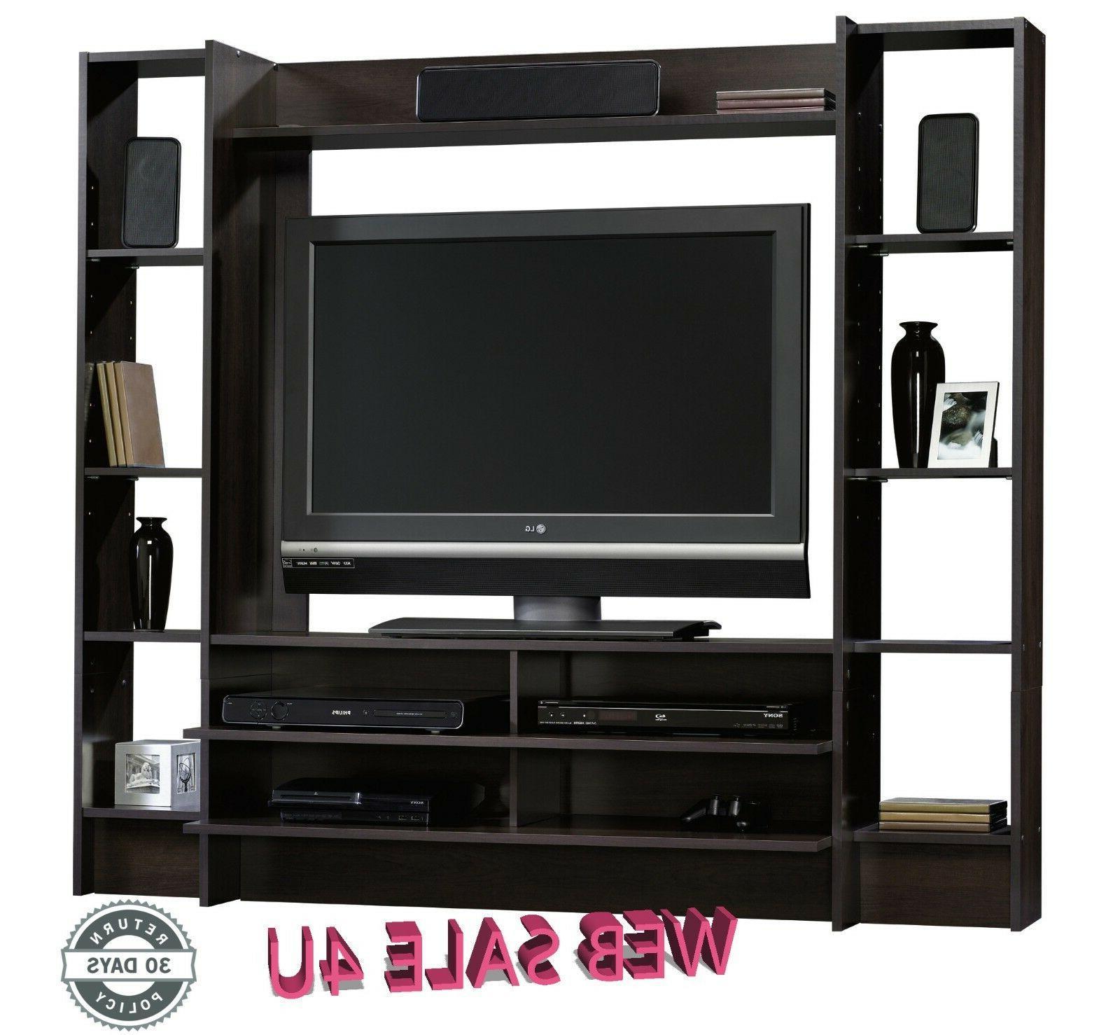 TV Wall Unit Wood