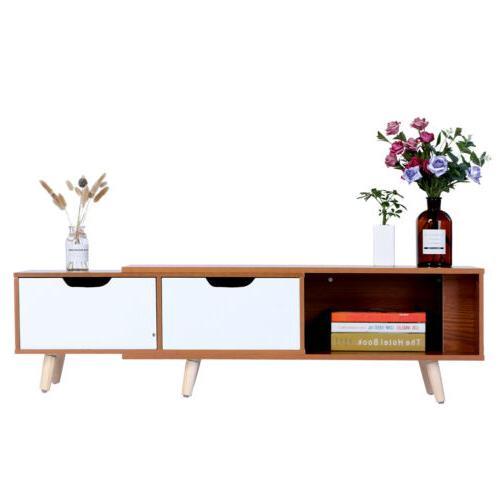 Modern In Telescopic TV Cabinet Shelf 2
