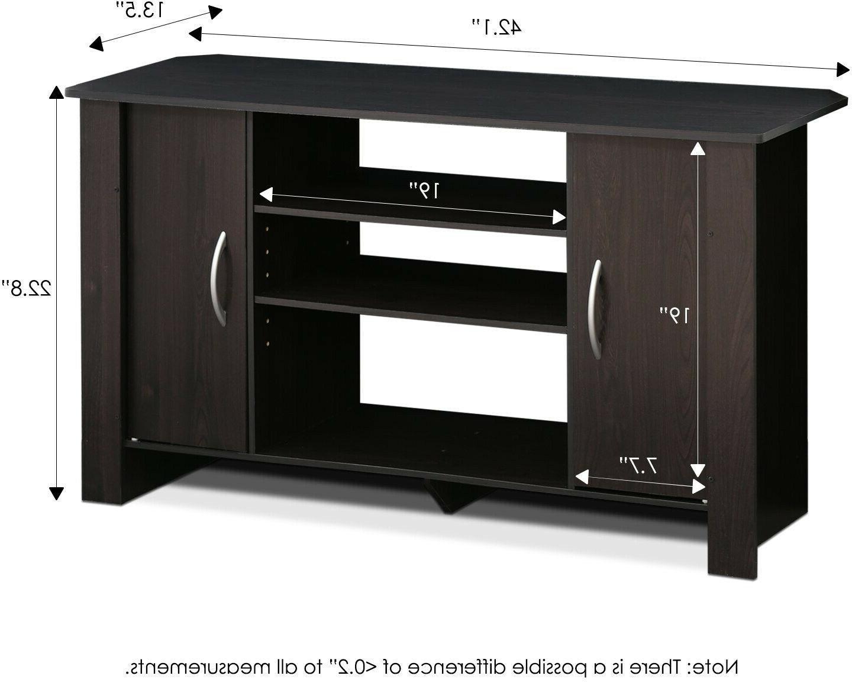 TV Center Console Wooden