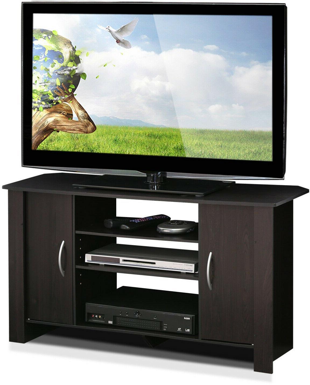 TV Entertainment Center Furniture Wooden Storage