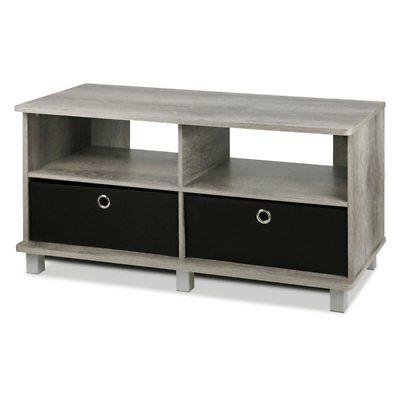 Furinno TV Stand - Gray Oak