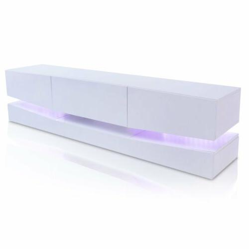 70inch Gloss Cabinet w/LED 3 HM