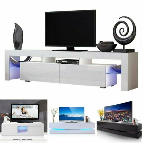 tv stand high gloss cabinet console furniture
