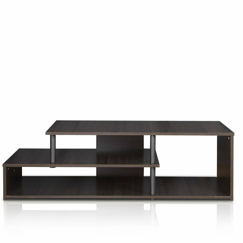 TV With Shelves Bedroom Black Stands New
