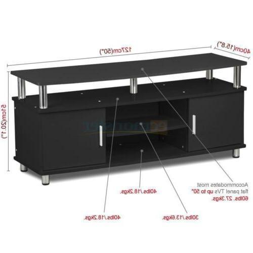 TV Stand Center Console Storage Cabinet Furniture