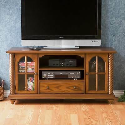 tv stand media center entertainment solid plain