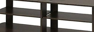 Tv Stand Media Brown Center 42 50 Inch Flat