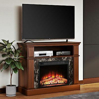 tv stand media fireplace 50 electric heater