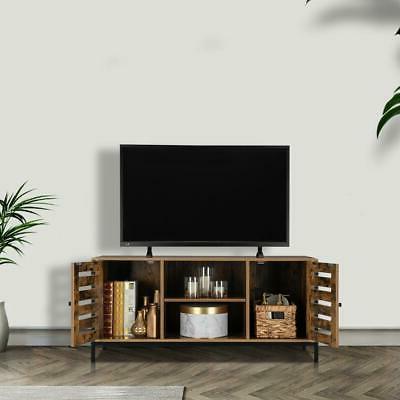 TV Entertainment Center Cabinet and Tier Shelf